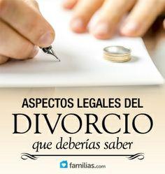 Consejos legales básicos que te ayudarán a saber cómo llevar un divorcio.