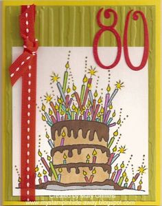 ...so little cake! To see more ideas and order Stamps by Judith & Heather go to www.stampsbyjudith.com