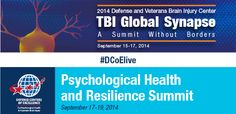 What are you doing Sept. 15-19? A good answer is you plan to learn more about the state-of-the-science and best practices in caring for service members and veterans with traumatic brain injury (TBI) and psychological health concerns. Two events next week sponsored by Defense Centers of Excellen...