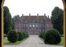 Nysø Manor, located near Præstø in the southeast of the Danish island of Sealand, was built in 1673 for Jens Lauridsen, a local functionary.