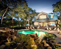 Lovely pool scene