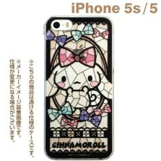 Sanrio Character Stained Glass Style Case for iPhone 5s/5 (Cinnamoroll) @^o^@