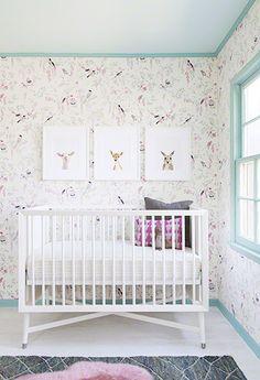 nurseri inspir, animal prints