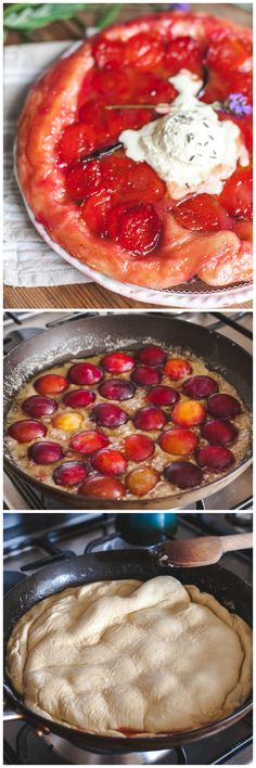 This French cousin of Plum upsidedown cake is so easy to make with puff pastry and ripe and juicy plums cooked in a caramel sauce.