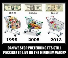 Can We Stop Pretending It's Possible To Live On Minimum Wage