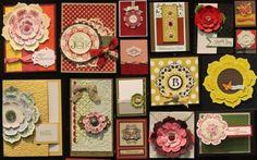 Daydreams Medallions Board #5 medallion board, daydream medallion, cardmakingscrapbook daydream, stampin, convent board, board 2012