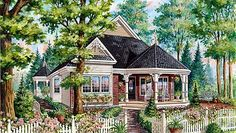 Compact Victorian with Wrap-Around Porch