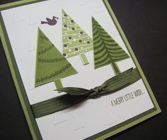 Festival of Trees Stampin Up! Christmas
