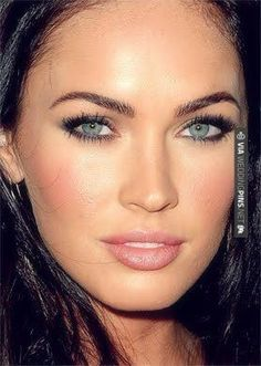 So good! - megan fox ...for wedding make up? | CHECK OUT MORE GREAT WEDDING MAKEUP IDEAS AT WEDDINGPINS.NET | #weddings #makeup #weddingmakeup #weddingeyes #lipstick #eyeliner #rouge #forweddings #iloveweddings #romance #beauty #planners #fashion #weddingphotos #weddingpictures,