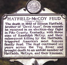 Hatfield-McCoy Feud