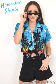 Turquoise Palms Mens & Ladies Hawaiian Shirts. Party Time! Large range - matching mens shorts available. Go matching as a group and stand out in the crowd. #hawaiianshirts #ladiesshirt #parrotshirt #parrotheads #ladieshawaiianshirts #festivalshirt #festivalclothing #beachshirt #boyfriendshirt #beachcoverup #partyshirt #luau #luaushirt #cruise #cruiseshirt #hens #hensshirt #bachelorette #bacheloretteshirt #springbreak