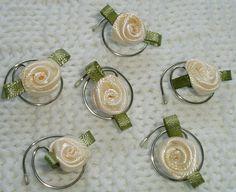 Cream Rose Hair Swirls Spins Twists Spirals Coils by hairswirls1, $9.99