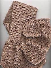 Criss-Cross Lace Scarf Knit Pattern