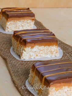 ArtandtheKitchen: Chocolate Caramel Rice Krispie Squares