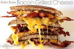 food recip, bacon grilled cheese, drink, grilled cheese sandwiches, chees sandwich