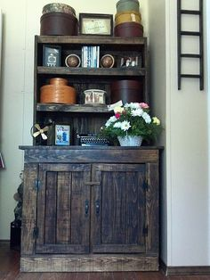 Pallet Stepback - Made From Repurposed Pallets