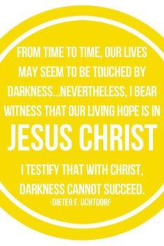 Living hope | April 2013 LDS general conference memes | Deseret News Uchtdorf quotes