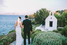 Wedding by the Aegean Sea