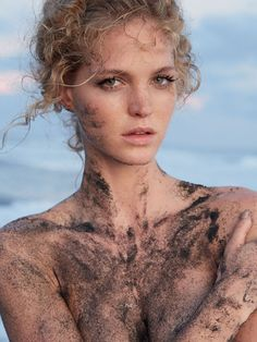 Erin Heatherton In 'Meet You There' By James Nelson For Russh February/March2014 - 3 Sensual Fashion Editorials   Art Exhibits - Anne of Ca...