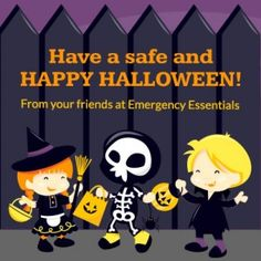 Happy Halloween from your Friends at Emergency Essentials!!