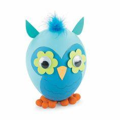 Easter Egg Owl