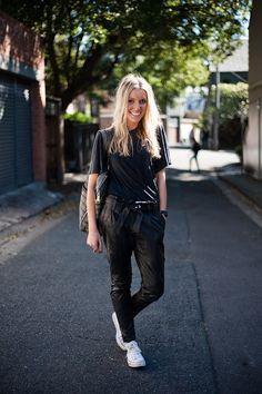 streetstyle | leather