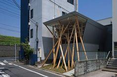 Nousfit Warehouse, Tokyo, Japan by Hideo Horikawa Architect & Associates