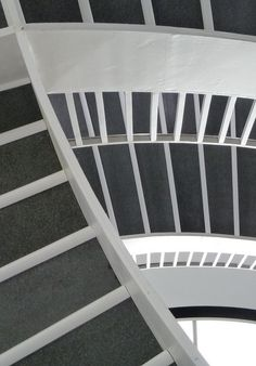 Chicago, Museum of Contemporary Art, Staircase Abstract | Flickr - Photo Sharing!
