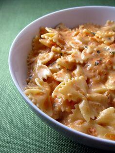 Creamy Tomato Basil Pasta. Really good!