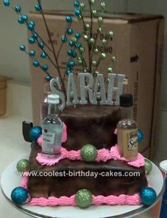 21st birthday cakes | Coolest 21st Birthday Cake 3