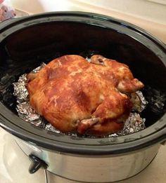 Rotisserie Chicken in the Crockpot