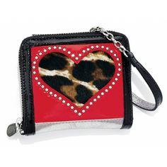 Brighton Fashionista Leopard Love Small Wallet to purchase call 951-734-5989