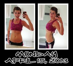 Witness my Fitness: Day 15 of my 30 Day Ab Challenge. Persistence is paying off--psychically and mentally! I feel great =D