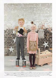 H for Milk by Les Petits Bohemes and Désaccord - love the nanging silver stars