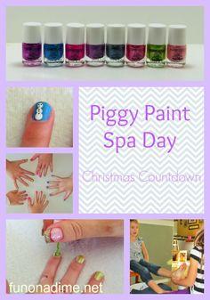 Piggy Paint Spa Day