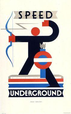 Speed Underground / by Alan Rogers, 1930