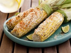 Cheesy Mexican Grilled Corn #RecipeOfTheDay