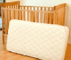 Organic Cotton & Wool Quilted Crib Mattress