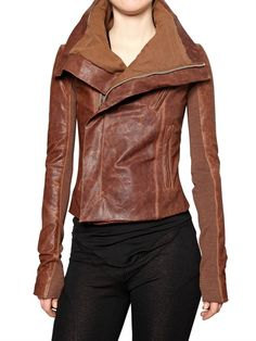 I really wNt this Rick Owens Leather Jacket. Really, really want.