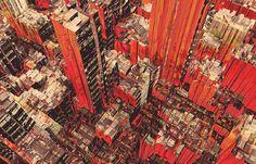olschinsky city illustrations