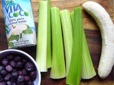 Blueberry Celery Smoothie