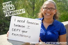 """Who needs feminism?"" tumblr"