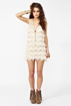 camilla fringe dress #prom, $88