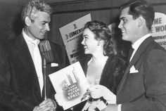 Je ff Chandler, Barbara Rush and Jeffrey Hunter