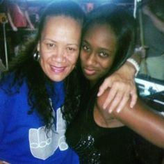 Trinity McCray (Naomi) & Talisua Fuavai-Fatu, who is the mother of Jon (Jimmy Uso) & Josh (Jey Uso) Fatu. Sau is married to Solofa Fatu, better known as Rikishi Phatu.