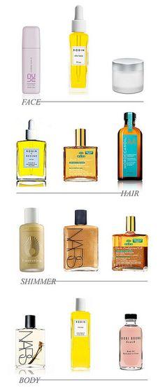 love beauty oils.....
