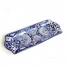 Blue and White Serving Platter : Emilia Ceramics #BlueandWhite #TalaveraVazquez #Entertaining #HomeDecor