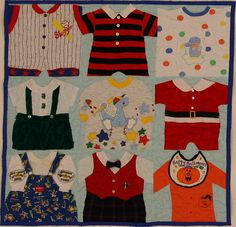 9 square Lap with Baby Blue background and Royal Blue backing.    So many adorable outfits!
