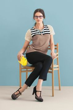 Striped Galao Pullover - Anthropologie.com