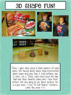 3D shape snacks